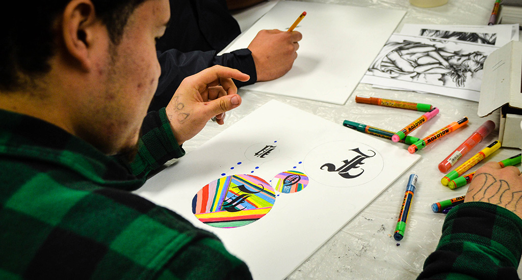 Inside An Oregon Youth Correctional Facility, Art And Hip Hop Are Thriving